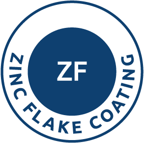 Zinc flake coating